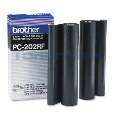 BROTHER PC202RF REFILL ROLLS BLACK